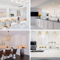 Contemporary Transitional Traditional Kitchen Design Boca Raton South Florida Palm Beach Interior Luxury